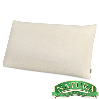 Natura World Ideal Low Profile King Size Latex Pillow (As Is Item)