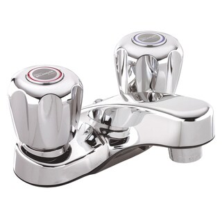 Belanger 3063 Polished Chrome 2-handle 4-inch Centerset Bathroom Sink Faucet