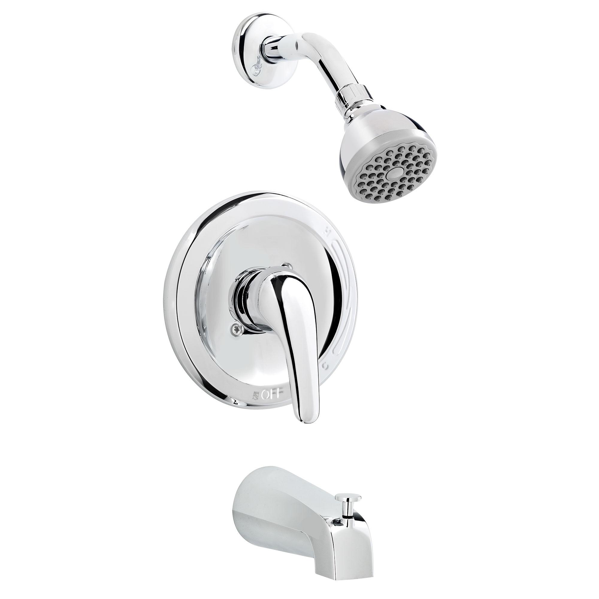 Shop Belanger EBY90CCP Single Handle Tub and Shower Faucet Combo