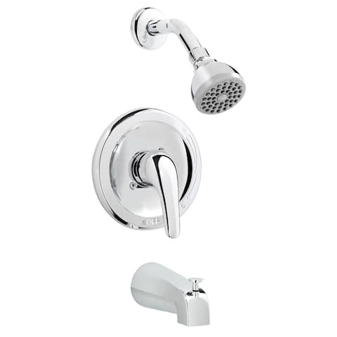 Belanger EBY90CCP Single Handle Tub and Shower Faucet Combo, Polished Chrome
