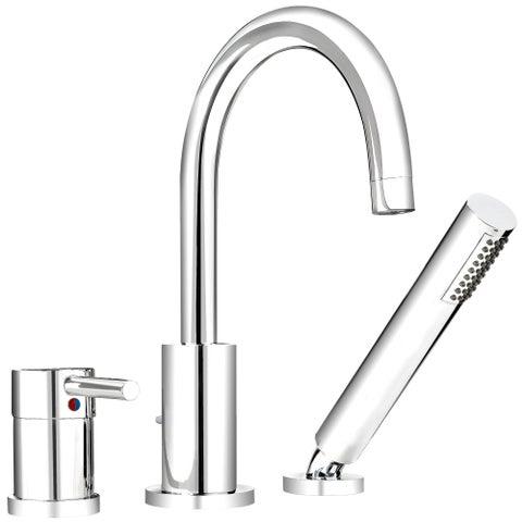 Belanger Single-handle Roman Polished Chrome Bathtub Faucet