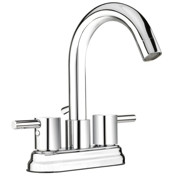 Shop Belanger Polished Chrome 2 Handle 4 Inch Centerset Bathroom