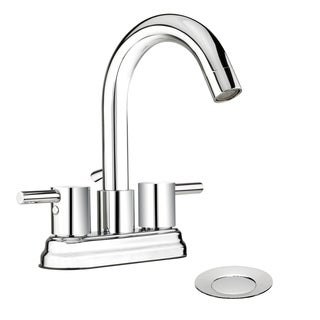 Belanger Polished Chrome 2-handle 4-inch Centerset Bathroom Sink Faucet