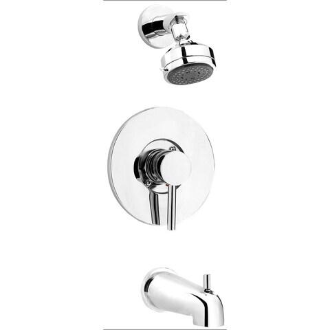 DEL90CCP Polished Chrome 1-handle Bathtub and Shower Faucet