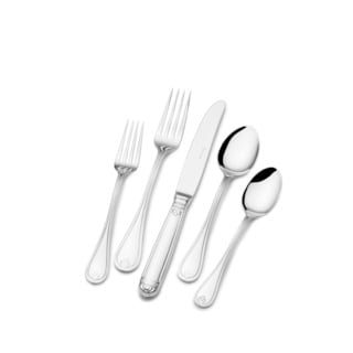 St. James Pearle 18/10 Stainless Steel 60pc Flatware Set