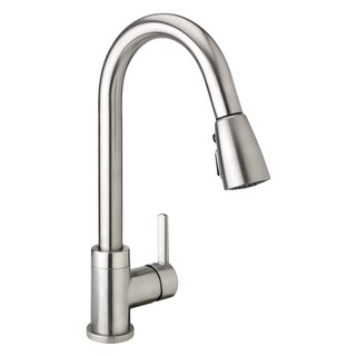 LOF78CBN Kitchen Sink Faucet with Pull-down Spout, 1-Handle, Brushed Nickel