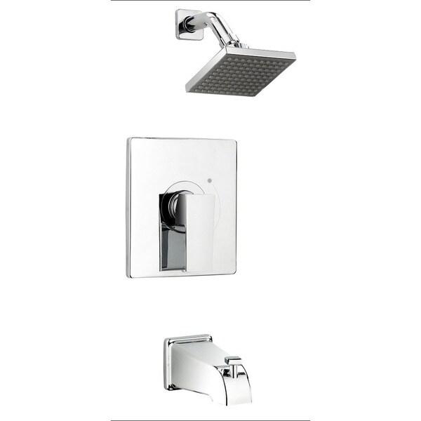 Shop Essential Style Qua90ccp Polished Chrome 1 Handle Bathtub