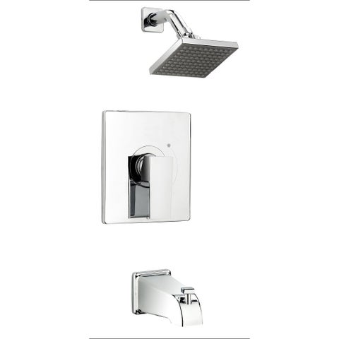 Essential Style QUA90CCP Polished Chrome 1-handle Bathtub/ Shower Faucet