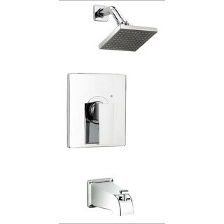 Essential Style QUA90CCP Polished Chrome 1-handle Bathtub/ Shower Faucet