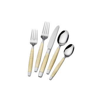 St. James Golden Ticket 18/10 Stainless Steel 45pc Flatware Set