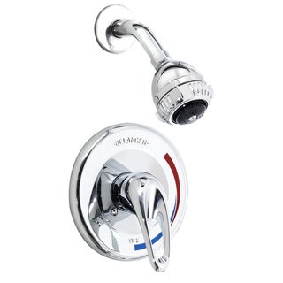 4792CP Polished Chrome 1-handle Shower Faucet (As Is Item)
