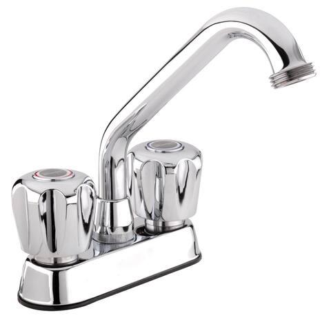 Belanger 3040W Polished Chrome 2-handle Laundry Tub Faucet
