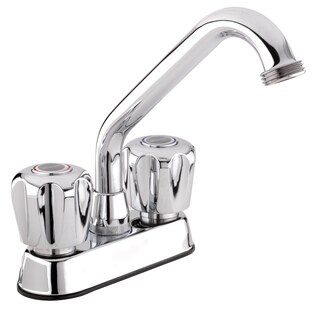 Belanger 3040W Polished Chrome 2-handle Laundry Tub Faucet