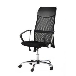 Danas Home Office Room Use Steel Five-star Feet Mesh Chair Black