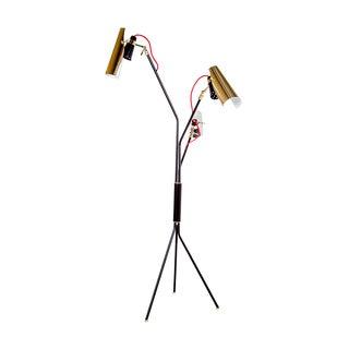 Hans Andersen Home Jackson Matte Black Triple Floor Lamp