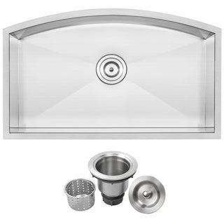 Ticor TR2220 Stainless Steel 16-gauge Single Bowl Undermount Kitchen Sink