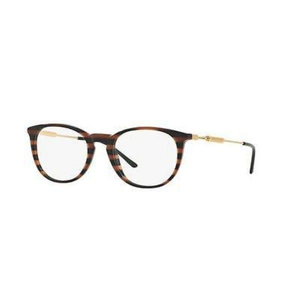 75122a0241 Versace Men  x27 s VE3227A GB1 51 Round Metal Plastic Black Clear Eyeglasses
