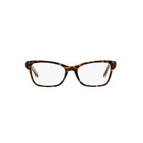 83769e468de Donna Karan DKNY Women  x27 s DY4650 3638 53 Square Plastic Purple Clear  Eyeglasses