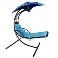Fantasy Sweet High-strength Blue Hanging Seat Hammock Chair
