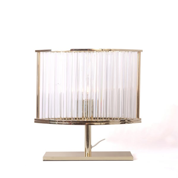 Hans Andersen Home Gotgatan Golden Crystal Table Lamp