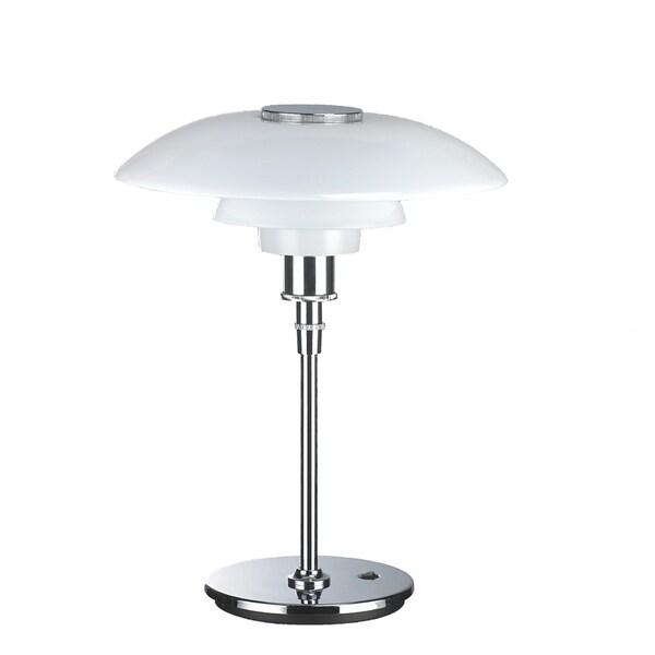 Stilnovo Casper Metal and Glass Table Lamp