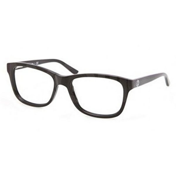 4a3c6115fc71 Tory Burch Women s TY2038 501 52 Rectangle Plastic Black Clear Eyeglasses -  52 mm