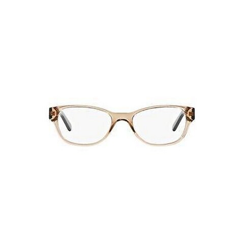 Tory Burch Women's TY2031 3153 51 Cateye Plastic Havana Clear Eyeglasses
