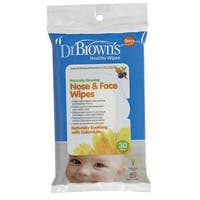 Dr. Brown's Nose And Face Wipes (30 Count)