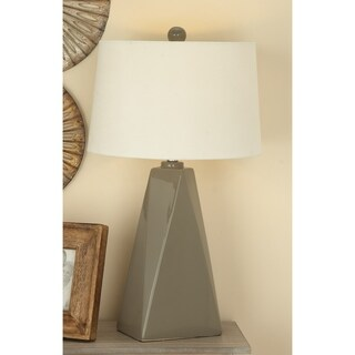 Urban Designs Bossa Nova Collection 29-Inch Glazed Ceramic Table Lamps - Set of 2