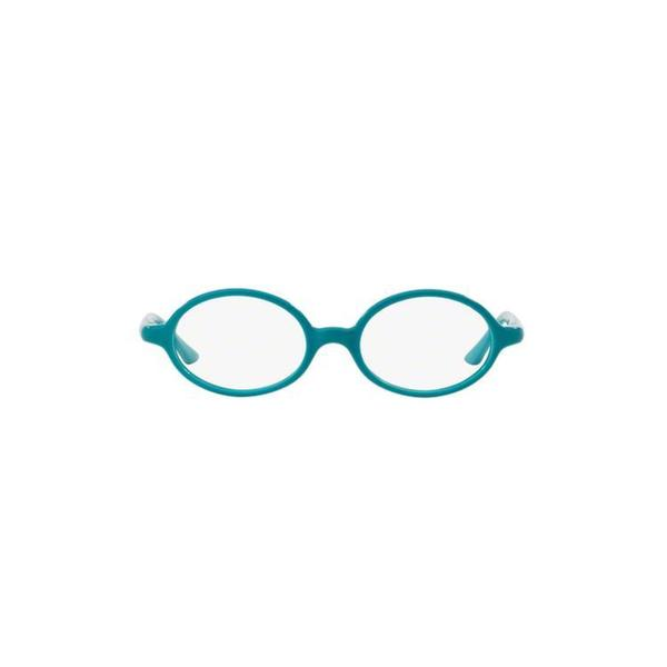 ba3ee1be4f Ray-Ban Unisex RY1545 3703 44 Oval Plastic Blue Clear Eyeglasses ...
