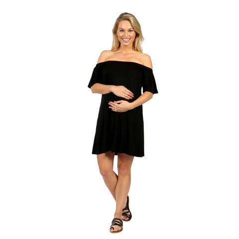 24/7 Comfort Apparel Al Fresco Maternity Dress
