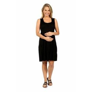 24/7 Comfort Apparel Hourglass Shift Maternity Dress