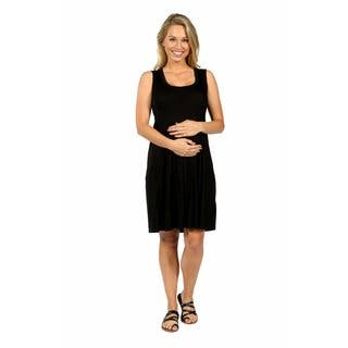 24/7 Comfort Apparel Hourglass Shift Maternity Dress|https://ak1.ostkcdn.com/images/products/14780752/P21302658.jpg?impolicy=medium