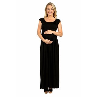 24/7 Comfort Apparel Cool Drink of Water Maternity Dress (More options available)