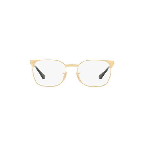 6978f8ffb8 Ray-Ban Unisex RY1051 4052 47 Square Metal Black Clear Eyeglasses