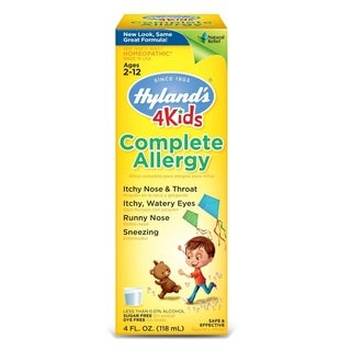 Hyland's 4 Kids 4-ounce Complete Natural Allergy Relief