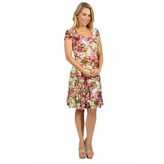 24/7 Comfort Apparel Bella Sera Maternity Dress