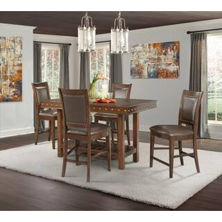 Picket House Furnishings Pruitt Counter 5PC Dining Set-Table & 4 Counter Dining Chairs https://ak1.ostkcdn.com/images/products/14780886/P21302509.jpg?impolicy=medium