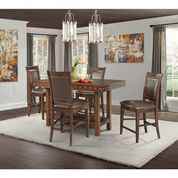 Pruitts Bedroom Furniture: Shop Picket House Furnishings Pruitt Counter 5PC Dining