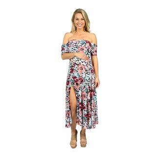 24/7 Comfort Apparel Angel Orchid Maternity Dress|https://ak1.ostkcdn.com/images/products/14780910/P21302737.jpg?impolicy=medium