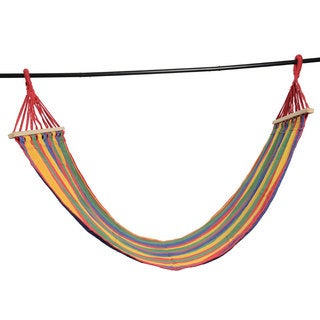 Quilted Fabric Double Spreader Bar Hammock