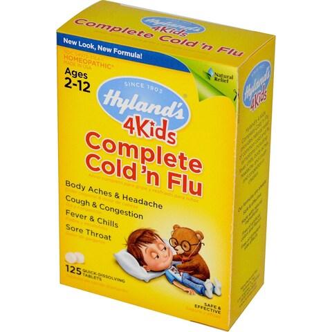 Hyland's 4 Kids Complete Cold n Flu (125 Tablets)