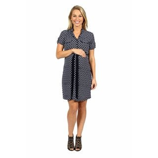 24/7 Comfort Apparel Roving Reporter Maternity Dress