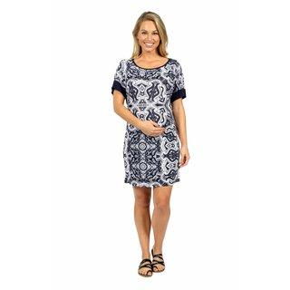24/7 Comfort Apparel Starlight Maternity Dress