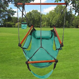 High Strength S-hook Cacolet Green Hanging Seat