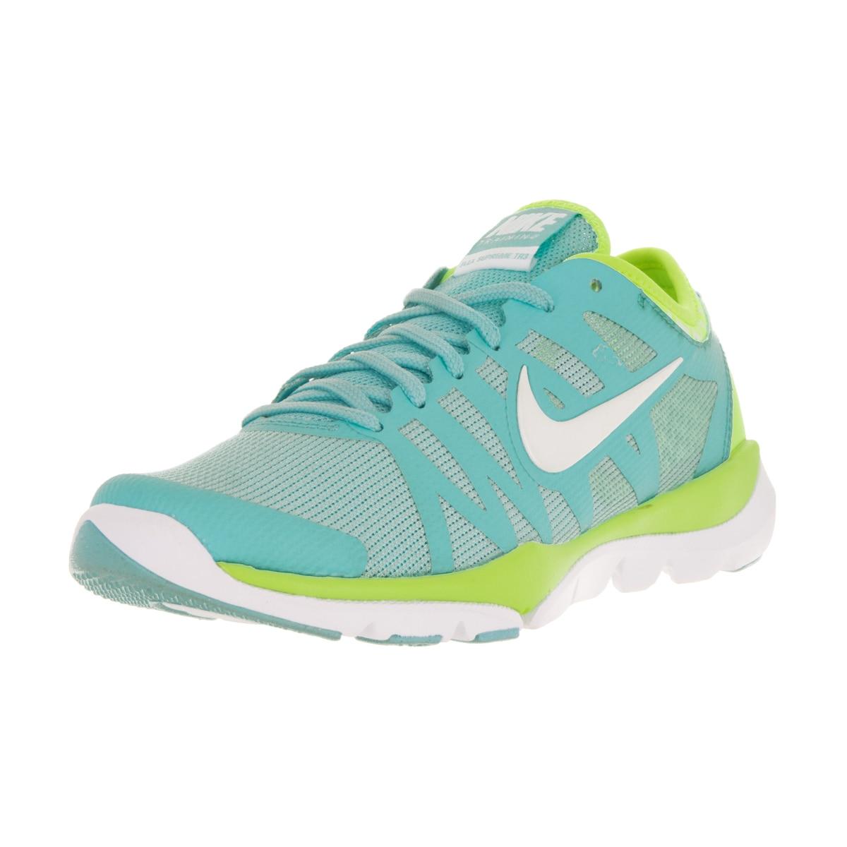 bolígrafo lote sufrir  Shop Nike Women's Flex Supreme Tr 3 Blue Training Shoe - Overstock -  14781000
