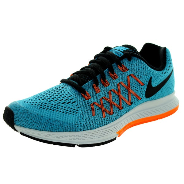 buy online 58306 29983 Nike Kid  x27 s Air Zoom Pegasus 32 (GS) Blue Running Shoes