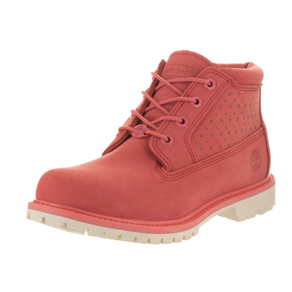 Shop Timberland Women s Nellie Pink Nubuck Boots - Ships To Canada ... 809dec5bb2