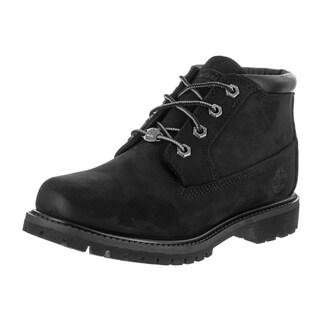 Timberland Women's Nellie Black Nubuck Boot
