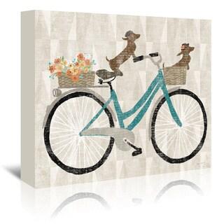 'Doxie Ride Ver I' Canvas Wall Art|https://ak1.ostkcdn.com/images/products/14781056/P21302837.jpg?_ostk_perf_=percv&impolicy=medium